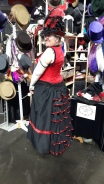 bustle-red